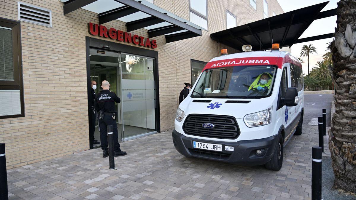 El niño fue trasladado al Hospital General de Elche