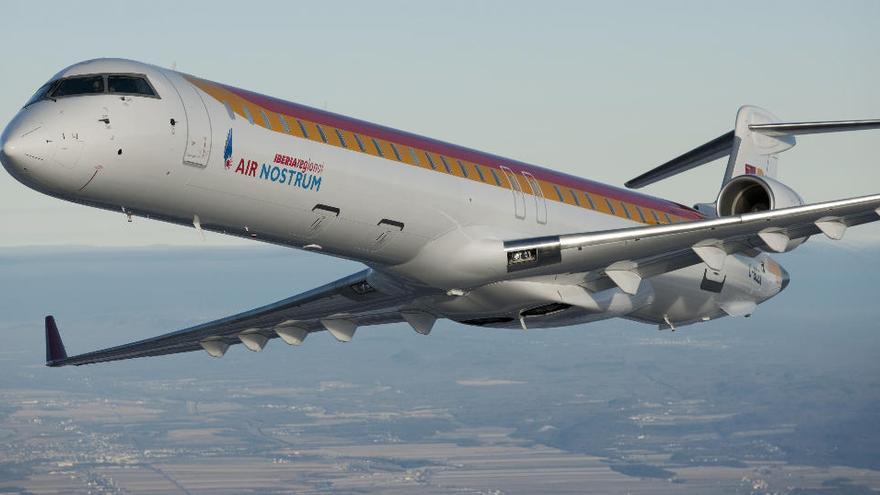 Air Nostrum restablece tres frecuencias diarias entre Ibiza y Mallorca a partir del 24 de mayo