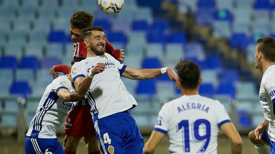 El Sporting no puede con el Zaragoza (0-0)