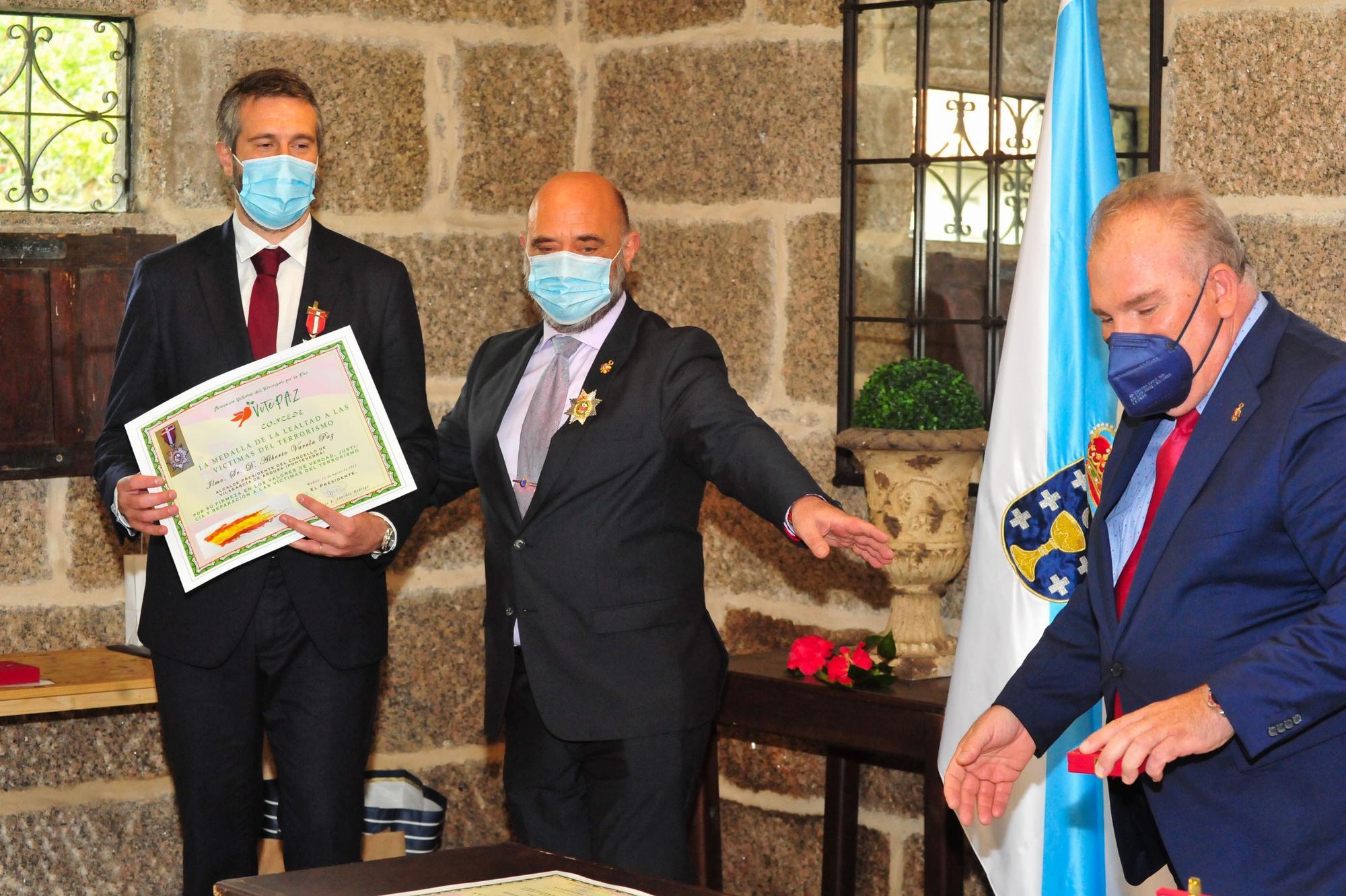 Entrega de medallas VITEPAZ