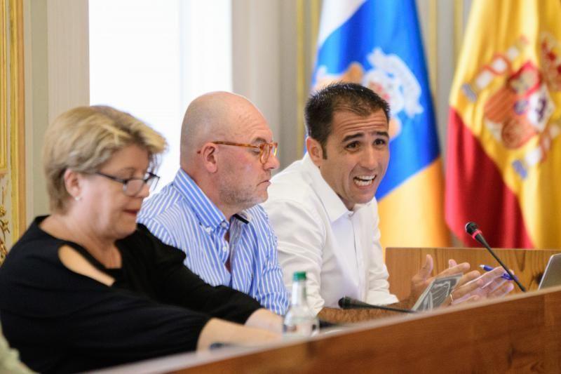 Pleno del Ayuntamiento de Las Palmas de Gran Canaria    29/06/2018   Fotógrafo: Tony Hernández