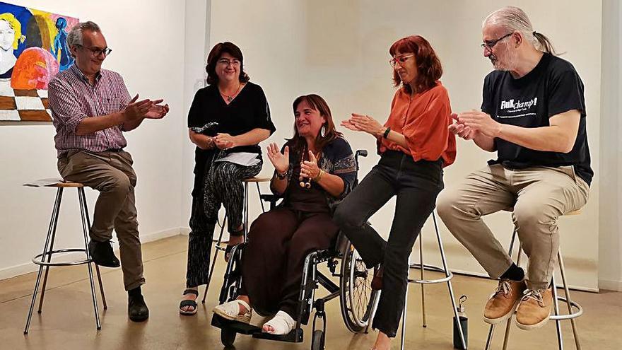 Taula rodona de tancament de la galeria Ventós de Figueres
