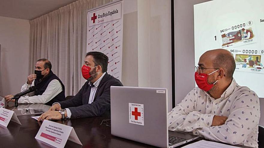 Cruz Roja de Zamora pone a la venta los billetes para el Sorteo del Oro