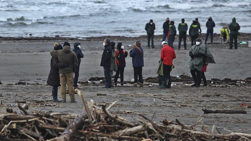 Hallan en la playa tras 12 días de búsqueda el cuerpo del desaparecido en Muros