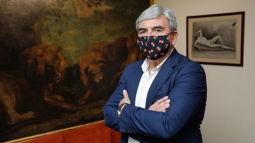 "Mariano Marín Albi: ""Llegué a presidente del PP de Gijón por un congreso y me gustaría irme por otro"""