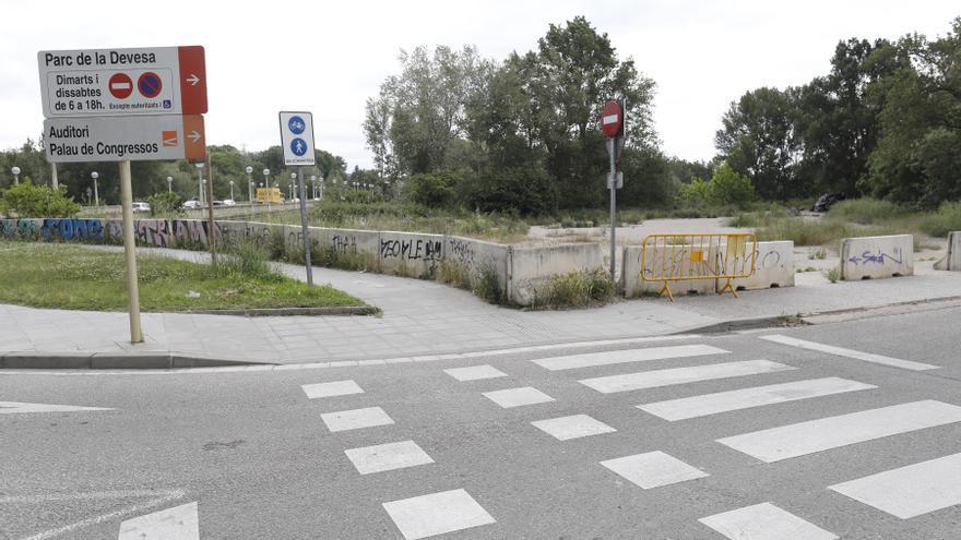 Disputa oberta sobre la titularitat del terreny del Triangle del Ter de Girona