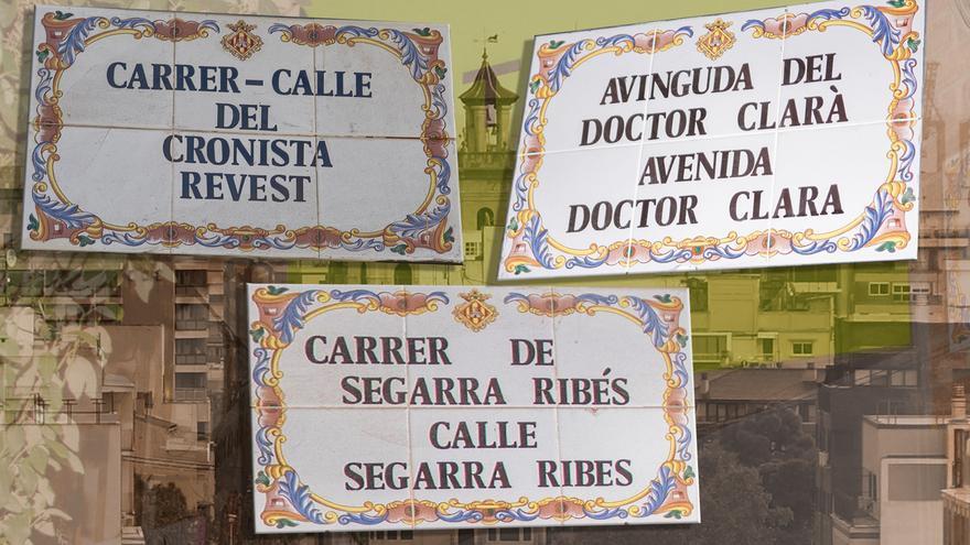 Polémica por los símbolos franquistas: el cronista 'salva' tres calles de Castelló