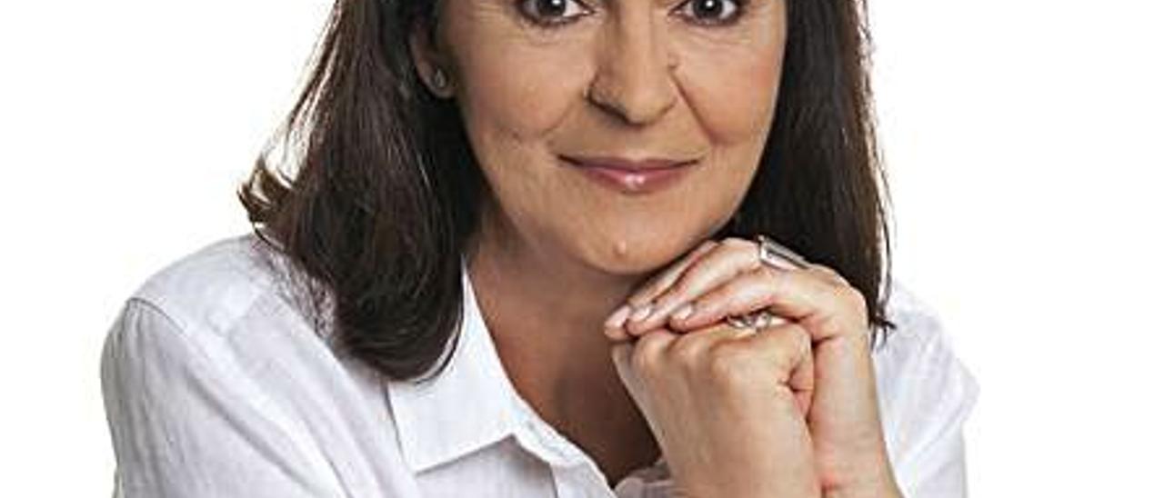 Julia Vidal, madrina del Cristo de la Buena Muerte