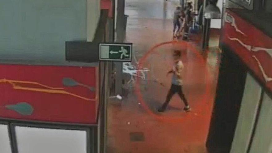 El vídeo de l'atropellament del 17-A marca la sessió del judici