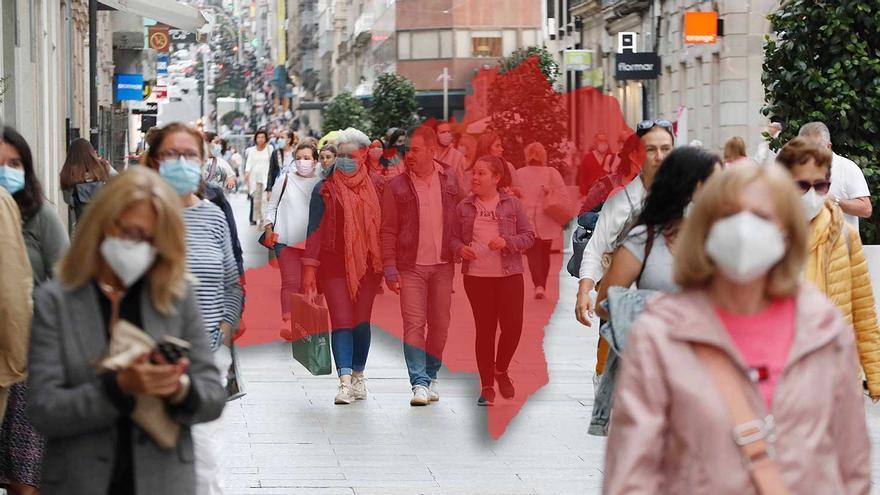 La carga de vecinos más allá del padrón: Vigo recibe cada jornada más de 22.000 no censados