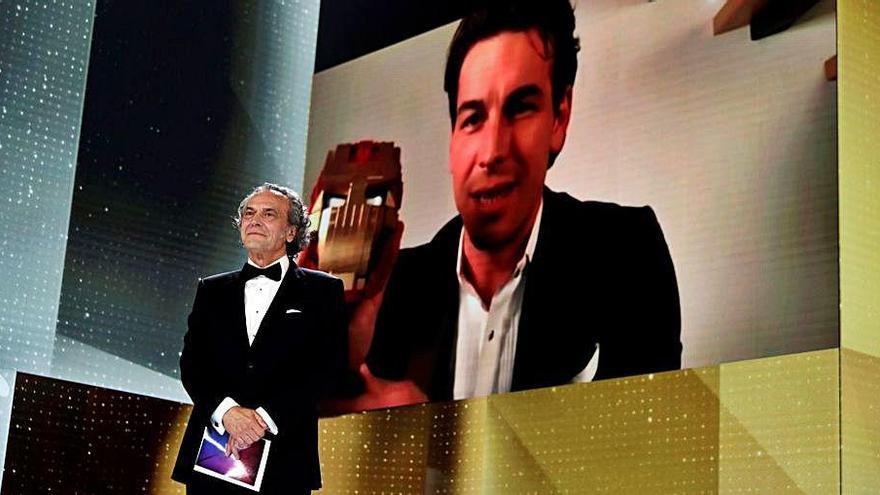 Mario Casas guanya el Goya per «No matarás», del manresà David Victori