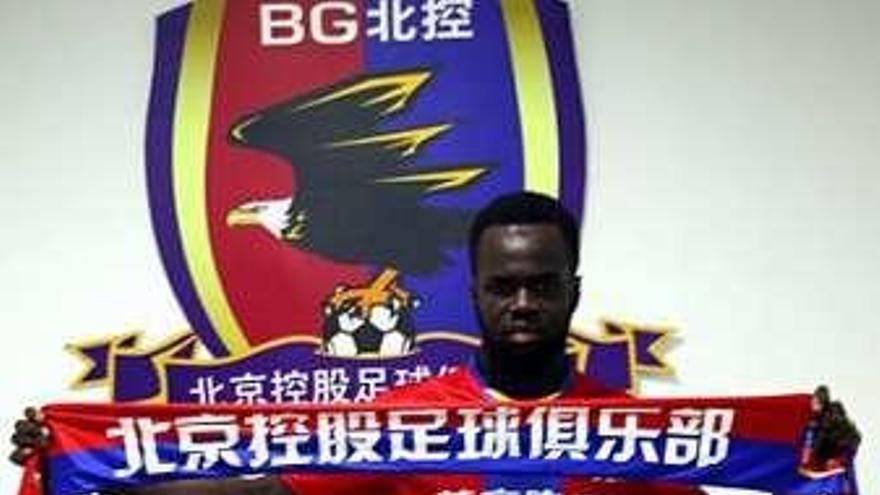 Tioté ficha por un conjunto de la Segunda División china