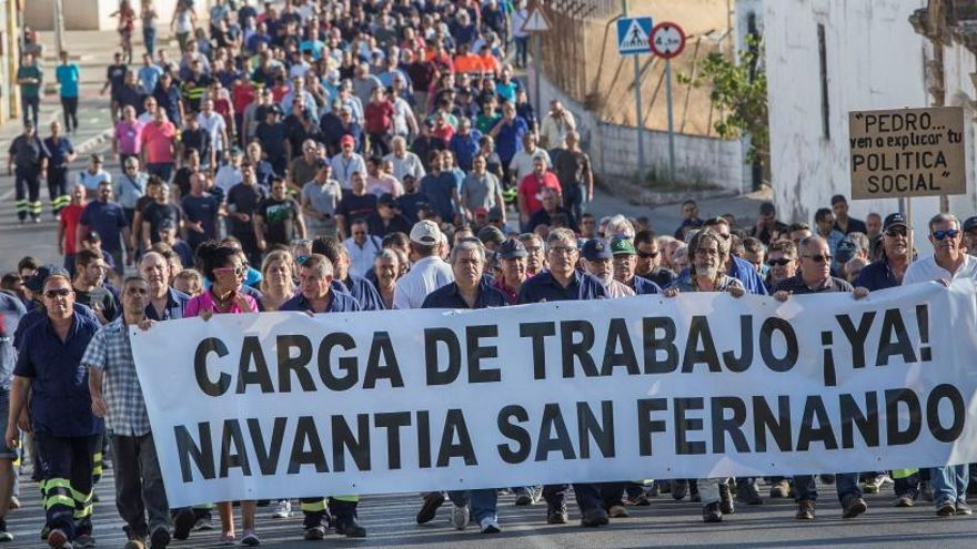 Muere un trabajador de Navantia en Cádiz
