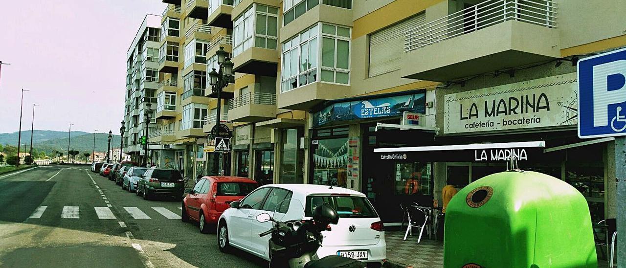 La humanización de la Avenida Monterreal, en pleno frente litoral, será prioritaria en el Plan de Mobilidade.