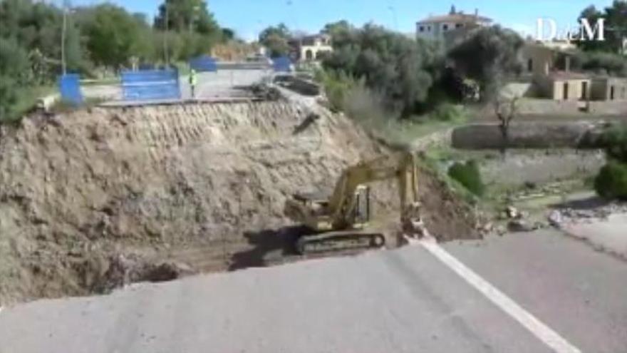 Soldaten sollen auf Mallorca provisorische Brücke nach Colònia de Sant Pere bauen