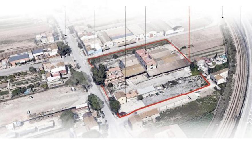 El promotor de la residencia de la Punta ganará 7.000 m2 de huerta