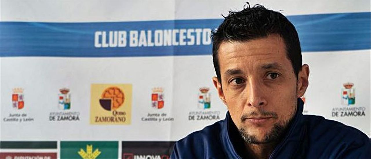 Saulo Hernández, ayer en rueda de prensa