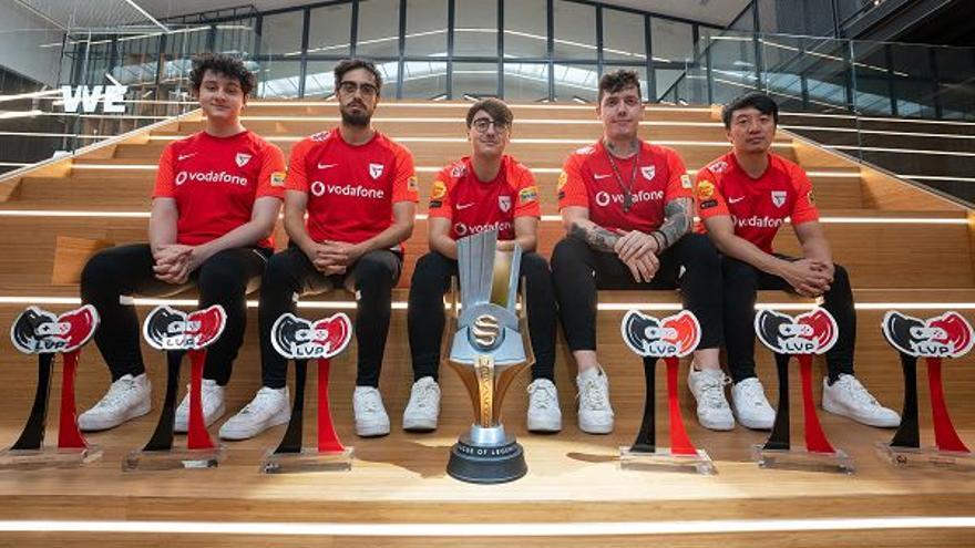 Vodafone Giants cierra la temporada de verano tras participar en la European Masters