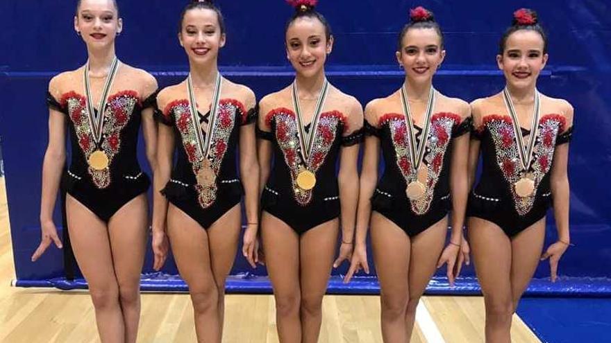 Cinco podios para el Liceo y el Séneca en trofeos