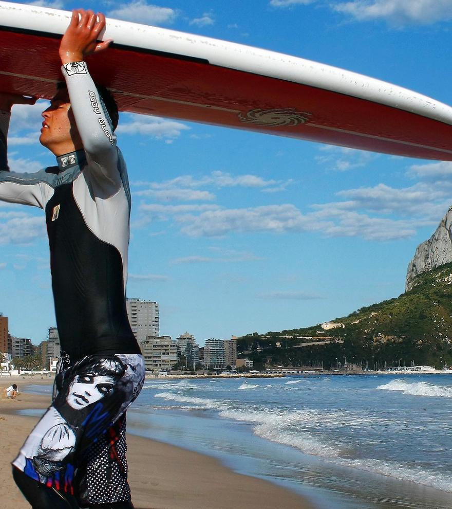 Calp, costa y montaña para practicar deporte.