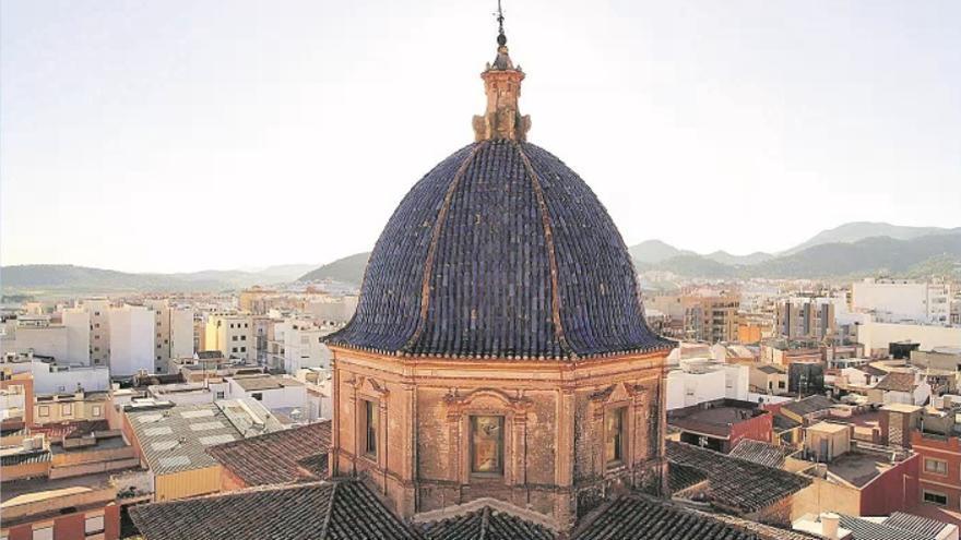 Diputación estudia arreglar la cúpula de la Asunción de la Vall d'Uixó
