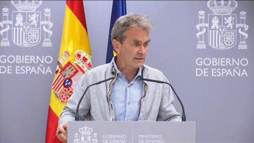 """Simón: """"Las medidas tomadas en Madrid pueden ser muy efectivas y habrá que plantear si ampliarlas al resto o a otras zonas de la Comunidad"""""""