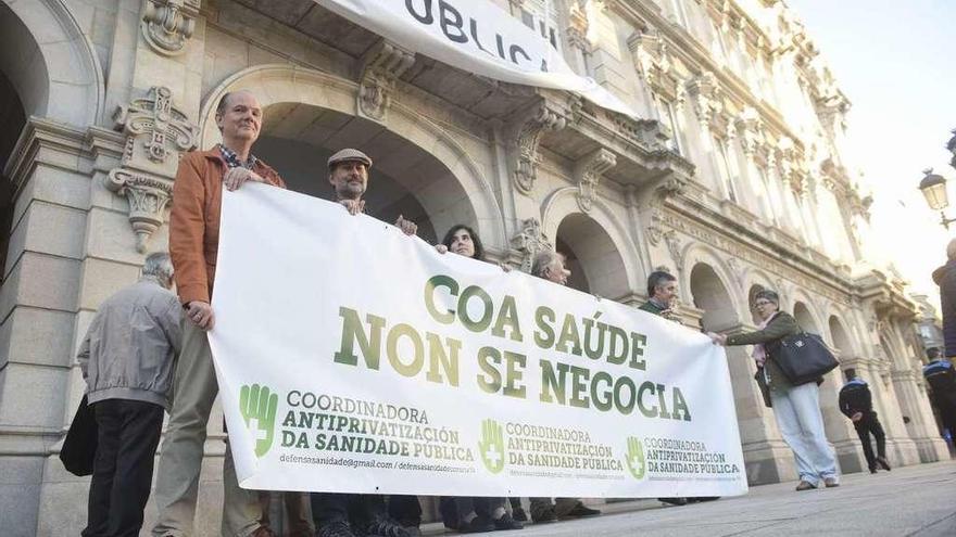 Nueva protesta contra la privatización sanitaria