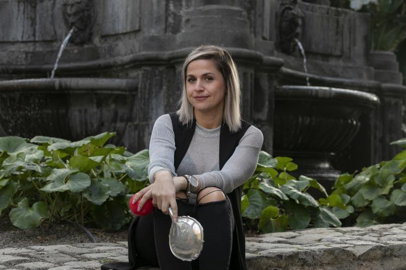10.02.20. Las Palmas de Gran Canaria. Carnaval 2020. Candidata a Reina del Carnaval , Amy M. Monzón. Foto: Quique Curbelo  | 10/02/2020 | Fotógrafo: Quique Curbelo