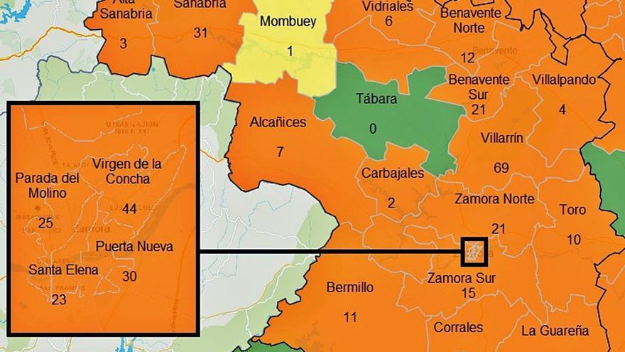 Sanidad abre la puerta a restricciones en Zamora si los contagios siguen al alza