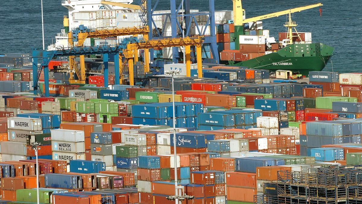 El puerto de Bilbao en una imagen de archivo.