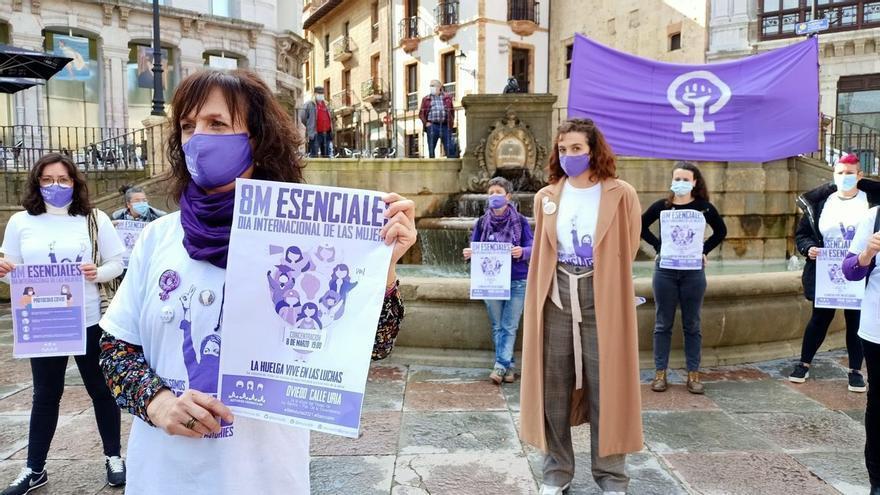 Así será el 8M en Asturias: Concentraciones en 13 puntos con límite de aforo y distancia social