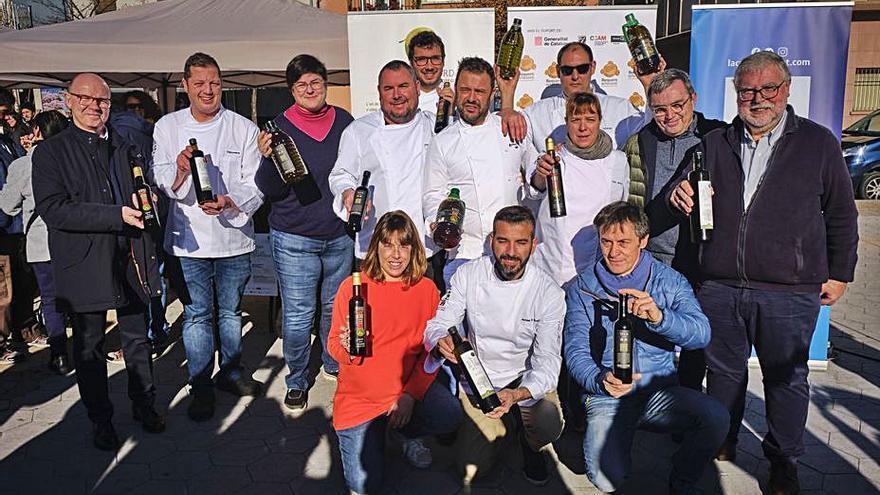 La Cuina del Vent i Girona Bons Fogons impulsen l'Oli de l'Empordà