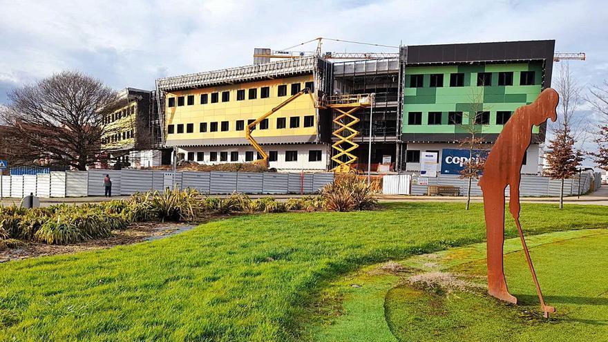 El IES de La Fresneda se inaugurará en septiembre con dos niveles educativos