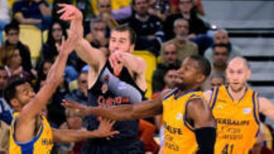 El Herbalife Gran Canaria atropella al Valencia Basket