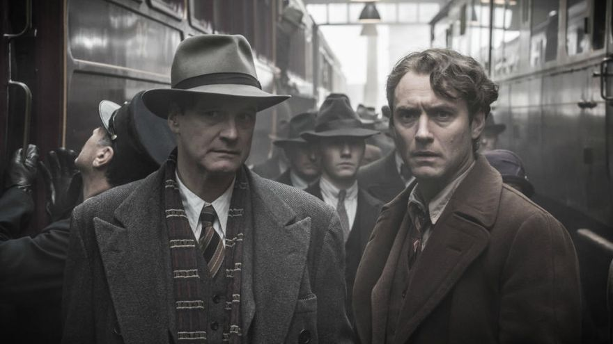 Colin Firth y Jude Law mantienen un idilio literario en 'El editor de libros'