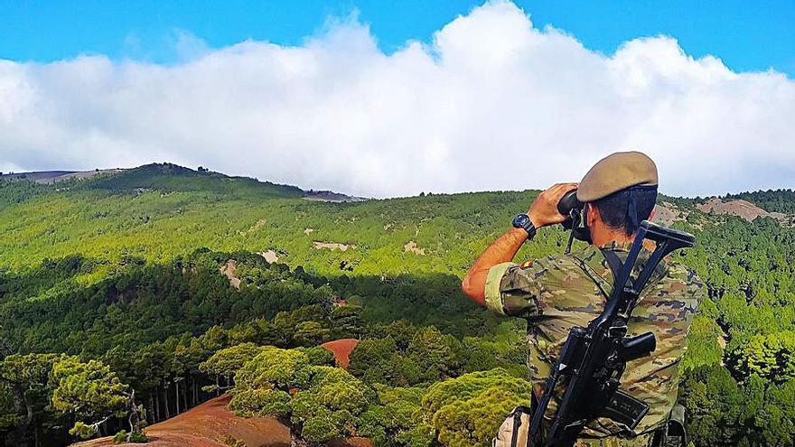 Despliegue militar por las Islas