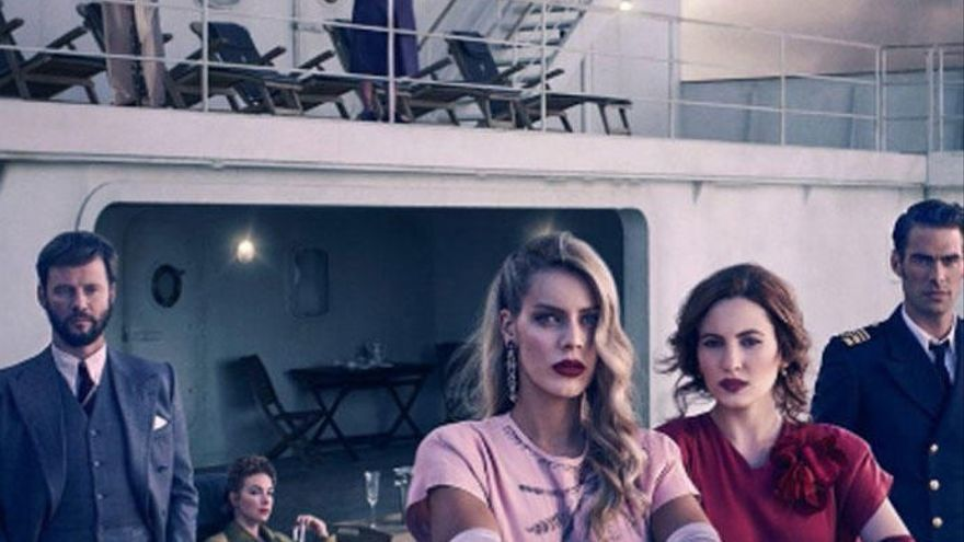 Crimen, amor y lucha de clases  en 'Alta mar', la nueva serie española de Netflix