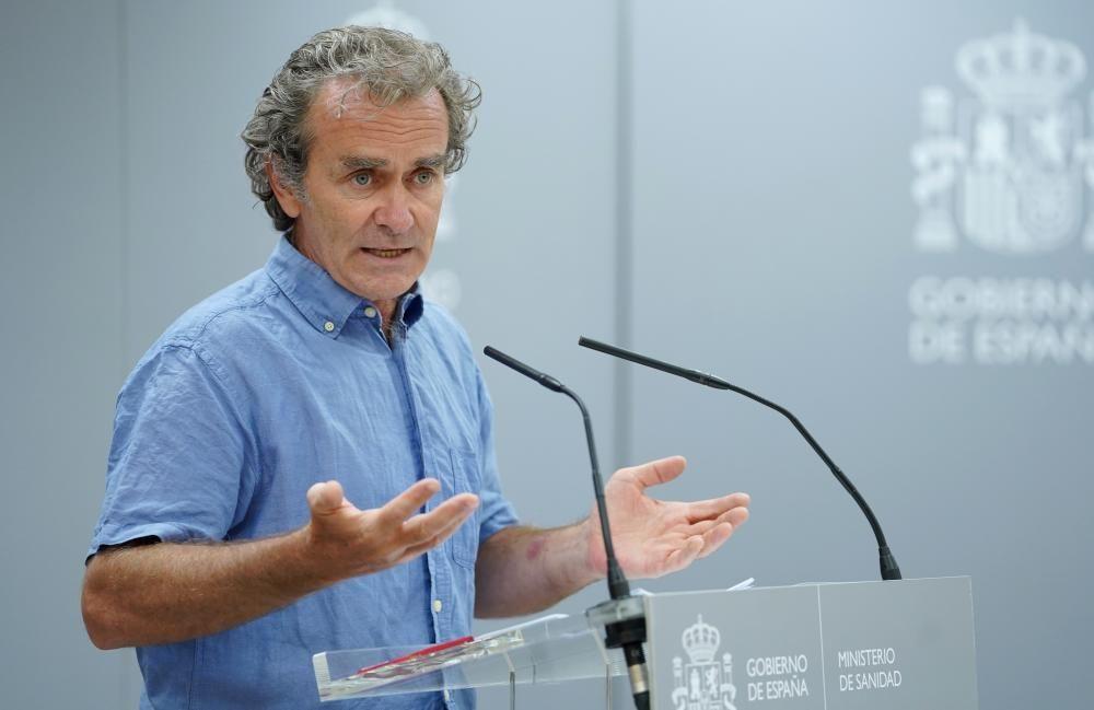 Fernando Simón actualiza los datos del coronavirus en España