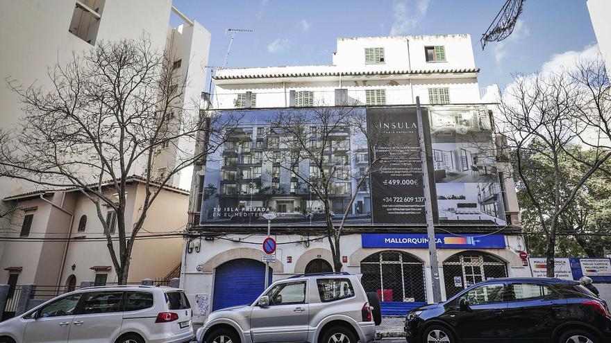 Los promotores de Mallorca frenan las nuevas viviendas de menos de 350.000 euros