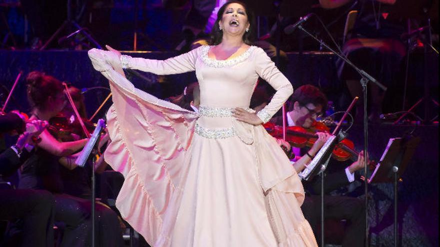 Isabel Pantoja regresa a Gran Canaria: concierto en el Arena el 13 de enero