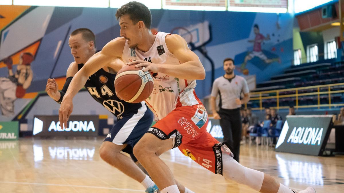 Kalinicenko fue uno de los mejores en el Zamora Enamora