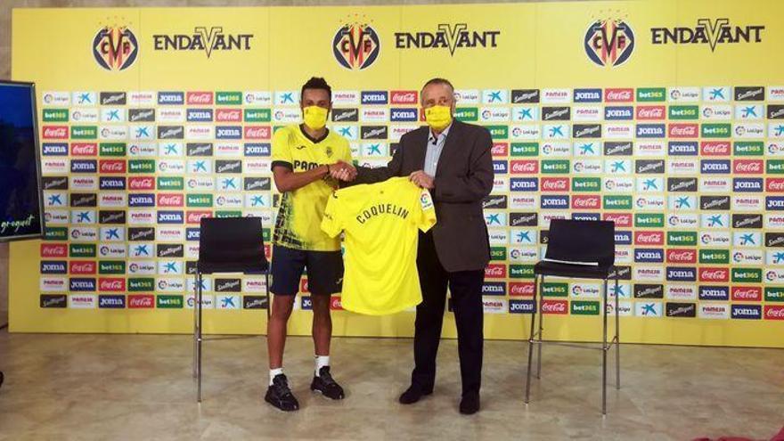 """Coquelin: """"El Villarreal es un club muy grande que debe mirar hacia la Champions"""""""