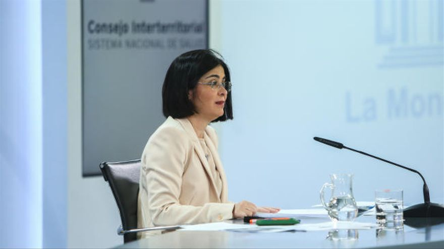 """Darias asegura que las manifestaciones por el 8M """"no han lugar"""""""