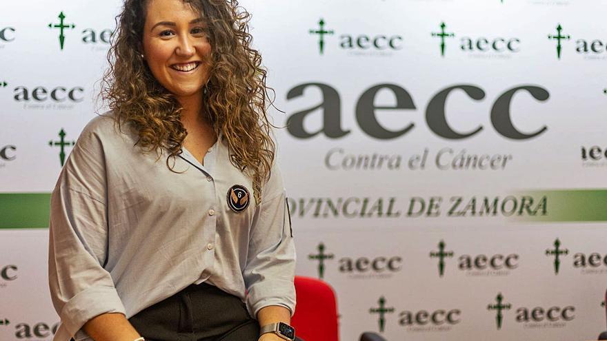 """Nora García, AECC de Zamora: """"Hay muchos pacientes que tienen más miedo al dolor que a la muerte"""""""