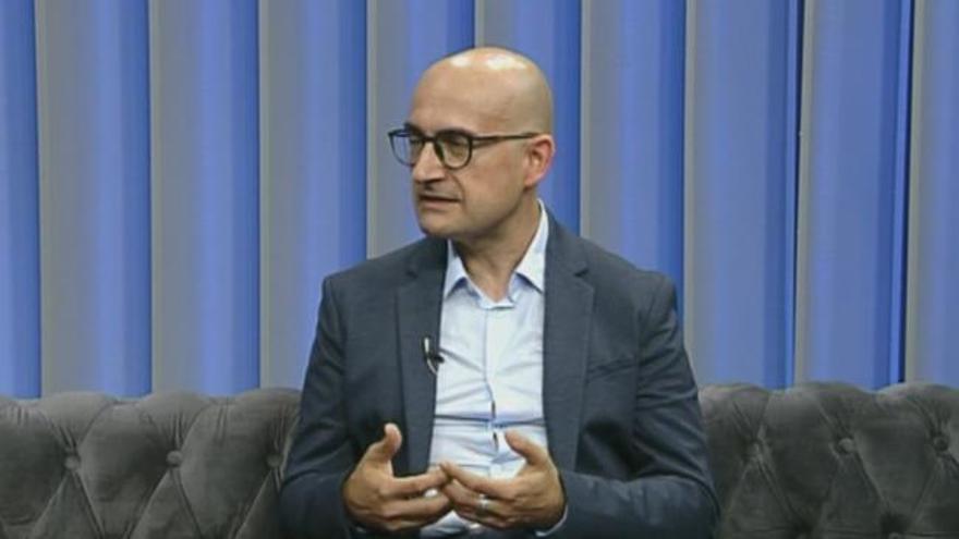 El alcalde de Alaquàs, Toni Saura, responde a las preguntas de Levante TV
