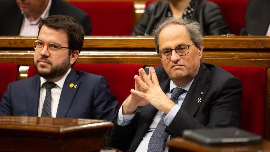 La Fiscalía investiga posibles injurias a la Corona de ERC, BNG y Adelante