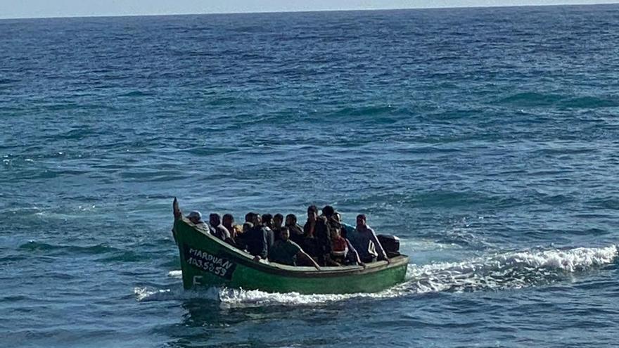21 migrantes llegan a Pozo Izquierdo