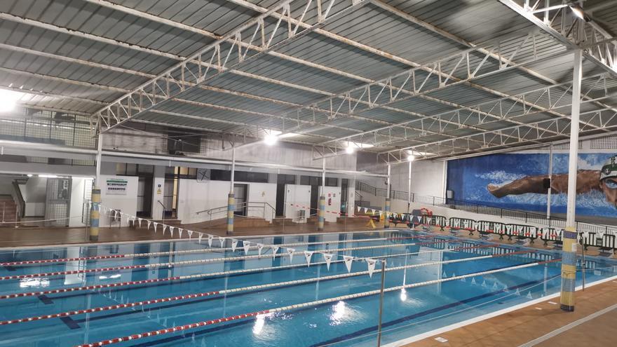 La renovación de la instalación eléctrica en la Piscina 29 de Abril
