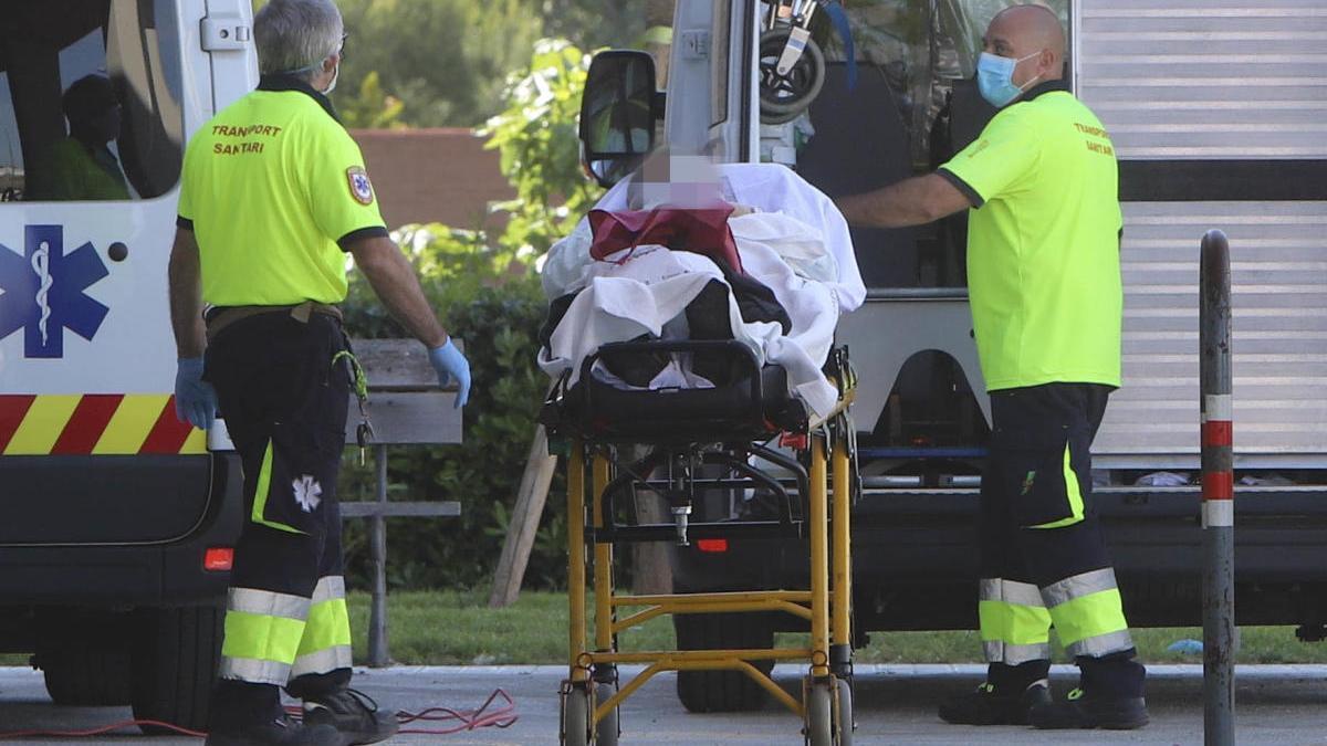 Ocho  hospitalizados por Covid-19 en Sagunt, dos en la UCI
