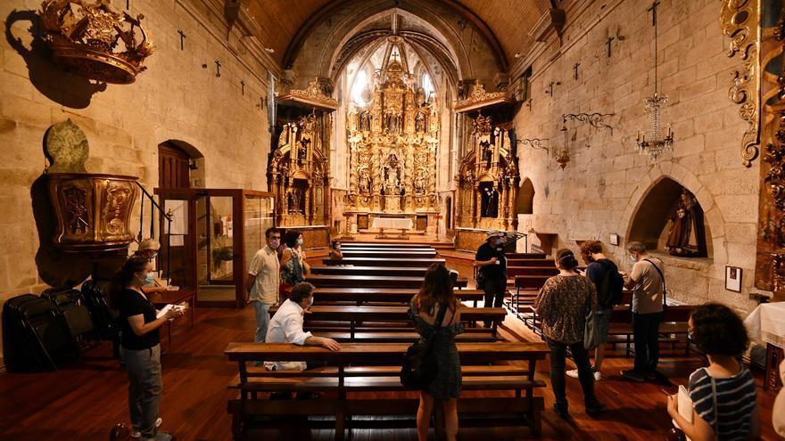 Una tasación del órgano y los retablos de Santa Clara suma 500.000 euros al valor del convento
